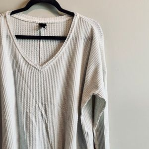 Oversized Long Sleeve Slouchy Thermal